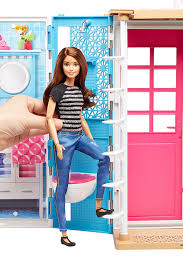 amazon com barbie 2 story house with furniture u0026 accessories