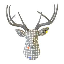 deer head wall mount decor images home wall decoration ideas