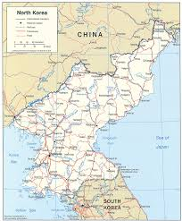 East Asia Political Map by Map Of North Korea North Korea Travel Map North Korea Political Map