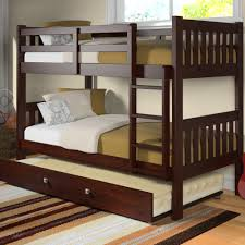 Bunk Beds  Bunk Bed Desk Combo Twin Over Full Wood Bunk Bed Full - Trundle bunk bed with desk