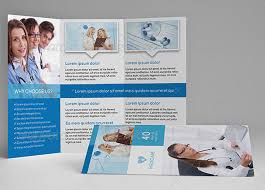 free medical brochure templates for word pamphlet brochure