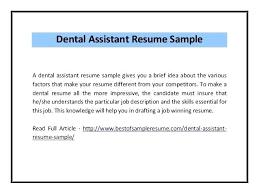 dental resume template resume dental assistant resume template