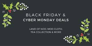 best upcoming cyber monday black friday deals black friday and cyber monday deals land of nod mod cloth tea