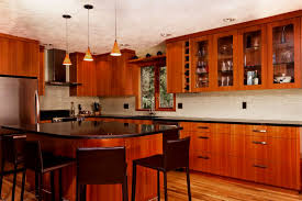 Modern Cherry Kitchen Cabinets Wonderful Cherry Wood Kitchen Cabinets Decoration Home Decor