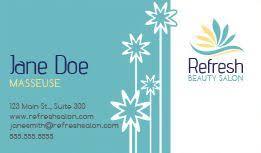 Beauty Spa Business Cards Beauty U0026 Salon Business Cards Design Custom Business Cards