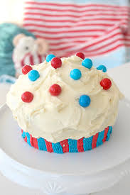 fourth of july giant cupcake cake pottery barn