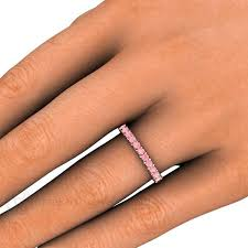 Pink Diamond Wedding Ring by Pink Diamond Wedding Ring Anniversary Or Stacking Band U2013 Rare