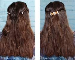 diy beachy sea salt hairstyle seashell accessories