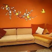 new 2017 vinyl fashion tree branch cherry blossom wall decal with