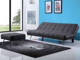 canap clic clac design vibrant ideas clic clac design canap et pouf en tissu simili bicolore murni gris noir jpg