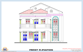 3 bedroom home plan and elevation house design plans