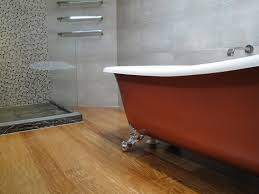 Bathroom Wood Floors - wooden floor for bathroom part 26 concrete on walls wooden