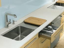 kohler wet surface kitchen sink new single basin sinks prologue