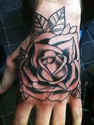 black rose designs for men tattoos black money rose tattoo on