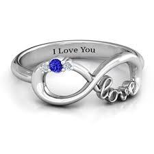 rings with birthstones and names name birthstone rings jewlr