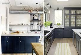 White And Blue Kitchen - blue kitchen a story about a home