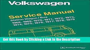 pdf free download volkswagen station wagon bus type 2 service