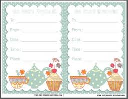 kids tea party invitation free u2013 orderecigsjuice info
