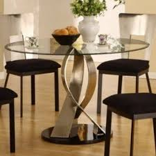 Bar Stool Table Sets Glass Top Round Kitchen Table Sets Foter