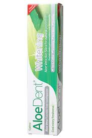 toothpaste whitening natural toothpaste whitening aloe vera aloe dent the organic store
