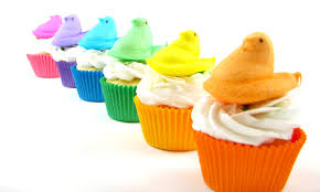 Decorating Easter Cupcakes With Peeps by Peeps Easter Cupcakes How To Make Colorful Peeps Cupcakes Perfect