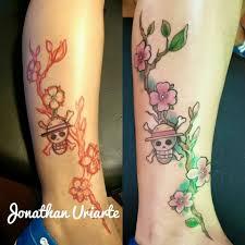 one piece tattoo by monkeytattooart on deviantart