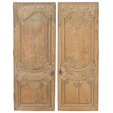 Modern Door Knockers Pair Of French Regence Period Stripped Armoire Doors At 1stdibs