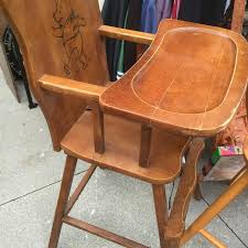 Wooden High Chair For Sale Find More Wooden Winnie The Pooh High Chair For Sale At Up To 90