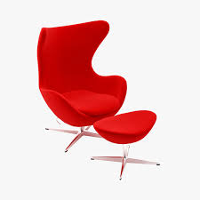arne jacobsen egg chair large preview of 3d model of fritz hansen