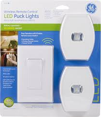 ge under cabinet lighting led amazon com ge wireless remote control led puck lights white 2