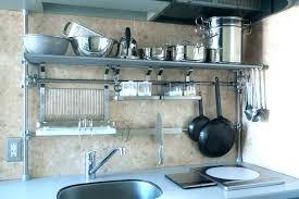 kitchen wall storage kitchen wall rack decorative wall mounted kitchen rack ikea