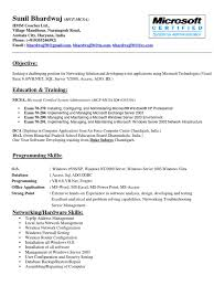 professional resume sunil bhardwaj windows server 2003