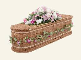 wicker casket a h freemantle funeral director coffins caskets and urns