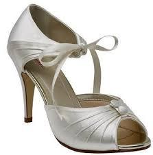 wedding shoes rainbow club wedding shoe ribbon ankle tie vintage nancy bridal shoe by