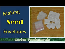 seed envelopes how to make a simple paper seed envelope packet