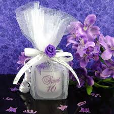 candles and favors wedding favors purple search wedding stuff