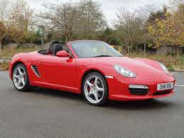 red porsche boxster used porsche boxster 2011 for sale motors co uk
