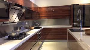 Wood Mode Kitchen Cabinets by Jisheng Uv High Gloss Kitchen Cabinet Designs Youtube