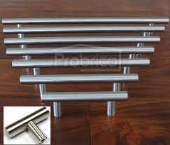 Stainless Steel Kitchen Cabinet Hardware Pulls 1 2