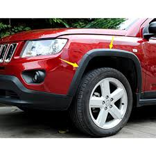 jeep compass wheels 10pcs front rear wheels fender flares cover protector molding