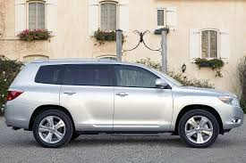 toyota highlander length 2008 toyota highlander overview cars com