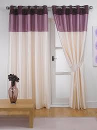 Eyelet Curtains Faux Silk Eyelet Curtains Ring Top Vienna Ebay