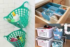 bathroom organizers ideas 24 genius dollar store bathroom organizing ideas design world