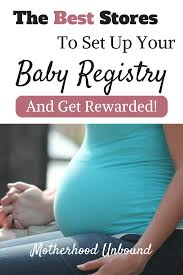 stores with baby registry the best baby registry stores that reward you motherhood unbound