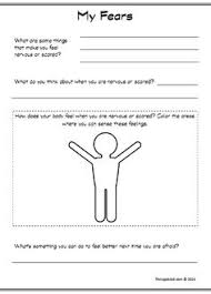 Coping Skills For Anxiety Worksheets This Children S Anxiety Worksheet Will Help Prompt The Client To