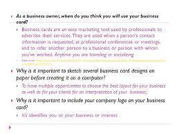 What Information Do You Put On A Business Card The Teen Entrepreneur Ppt Video Online Download