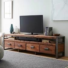 ideen fr tv wand vintage tv wohnwand holzmöbel ideen für tv wände tv