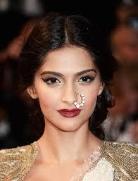 hindu nose ring diamond hoop nose rings sonam kapoor wore a diamond nose ring