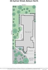 787 Floor Plan by 69 Aylmer Street Balwyn North Marshall White