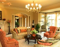 Orange Living Room Decor 19 Orange Living Room Designs Decorating Ideas Design Trends